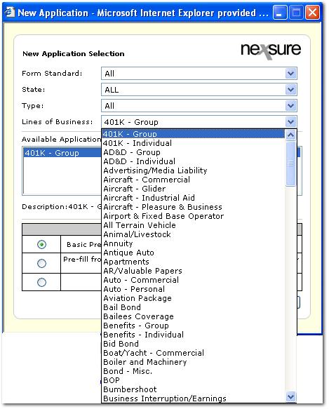 Nexsure  Release Notes